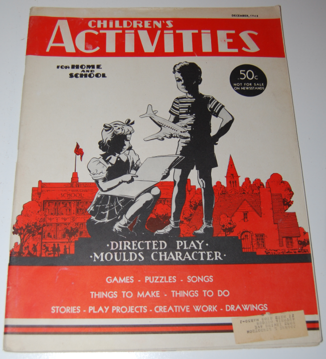 children's activities ~ december 1948