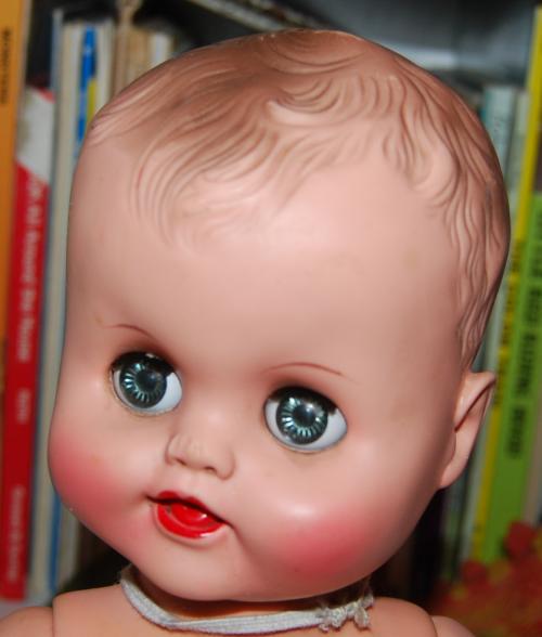 Vintage doll & swing 3