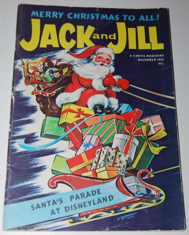 jack & jill magazine ~ december 1961
