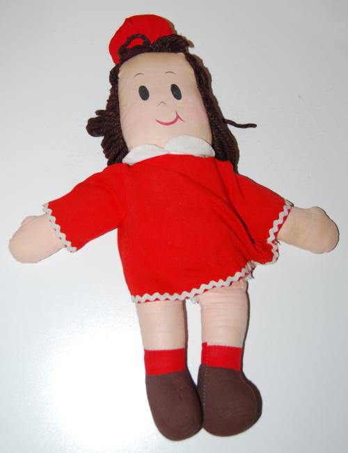 Vintage little lulu plush doll x