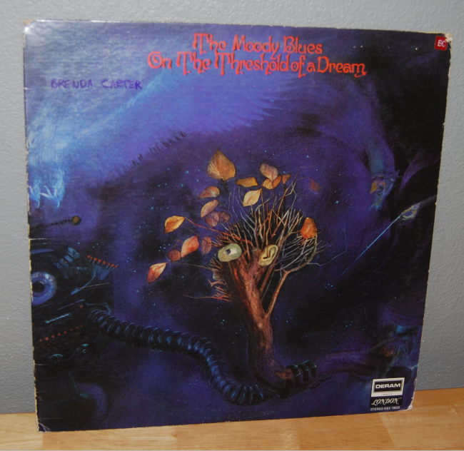 vintage vinyl ~ flashback friday the moody blues