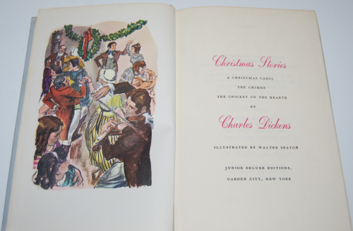 Charles dickens' christmas stories jr deluxe edition book 3