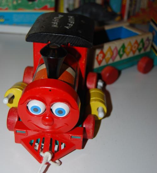 Fisher price huffy puffy train 1