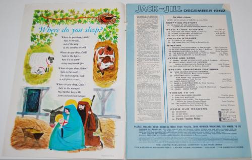 Jack & jill december magazine1962 1