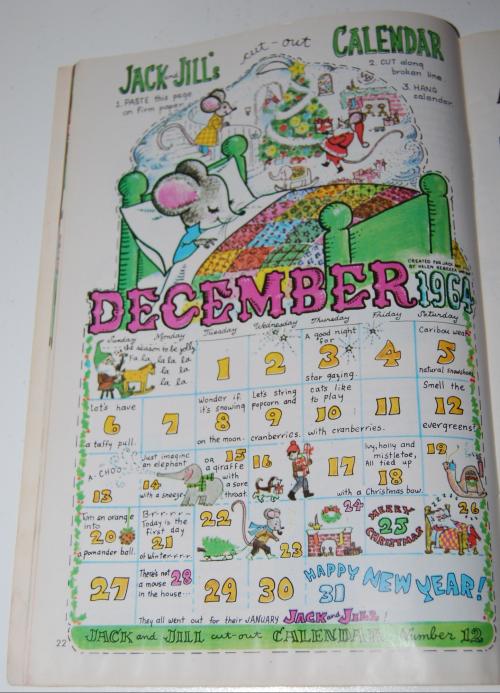 Jack & jill december magazine1964 6