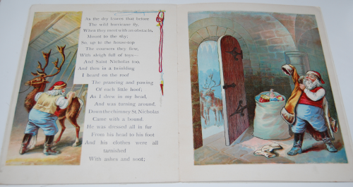The night before christmas vintage book 6
