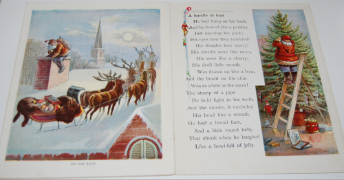 The night before christmas vintage book 7