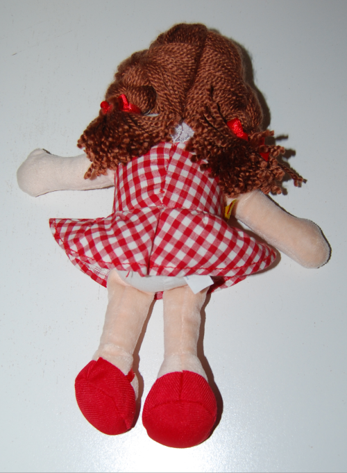 Misfit dolly for sue build a bear doll x