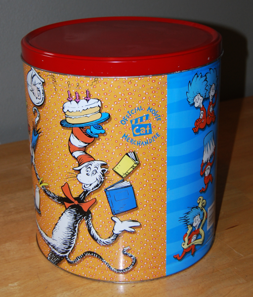 Cat in the hat tin 1