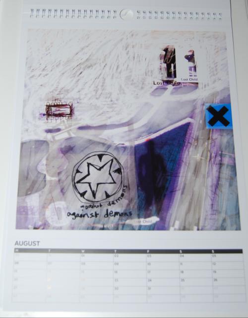 Radiohead calendar 2018 4