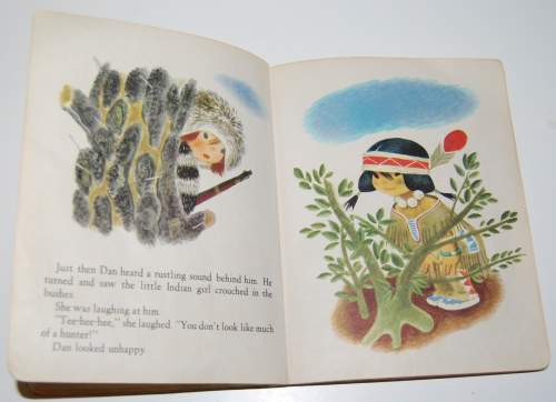 Little golden book the little trapper 4