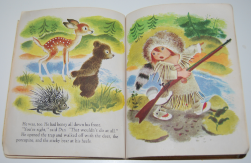 Little golden book the little trapper 8
