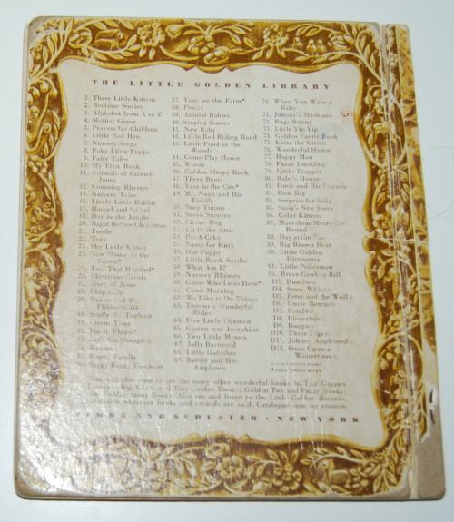 Little golden book the little trapper x