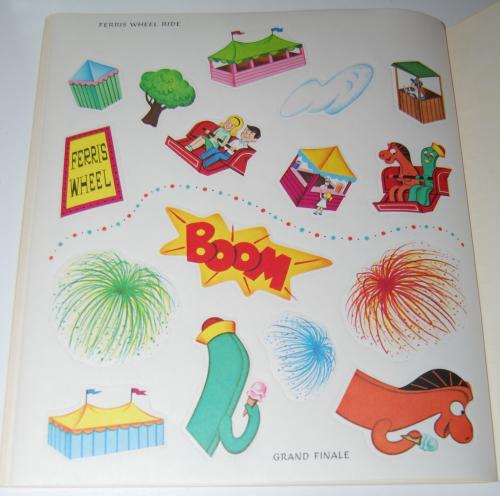 Gumby & pokey sticker fun whitman 11