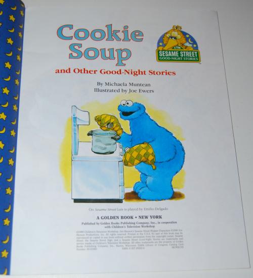 Sesame strret golden goodnight storybooks 8