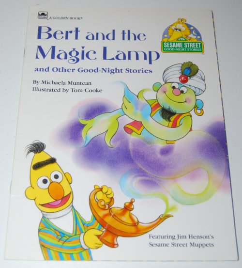 Sesame strret golden goodnight storybooks