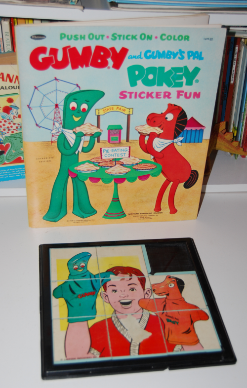 Vintage gumby toys