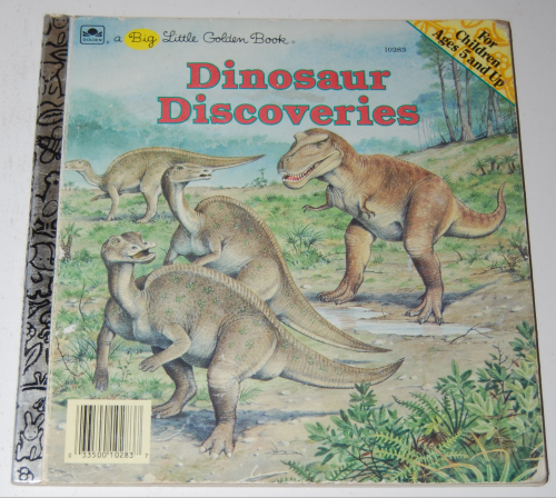 Little golden books dinosaurs 1