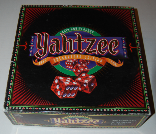 Yahtzee collector's edition game