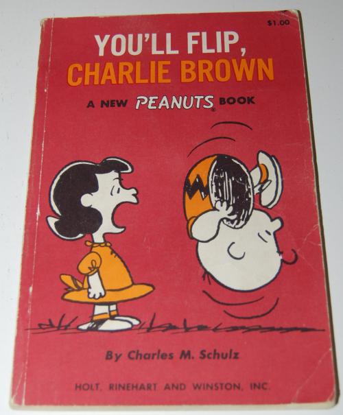 Vintage peanuts books 1