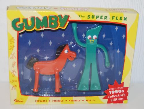 Gumby & pokey superflex collector set