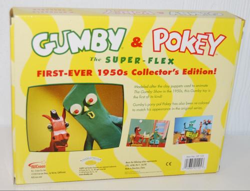 Gumby & pokey superflex 50s collector set