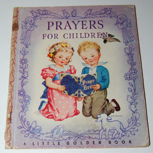 Little golden book prayers for children 1942