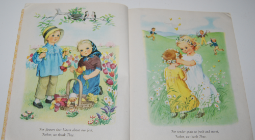 Little golden book prayers for children 1942 2