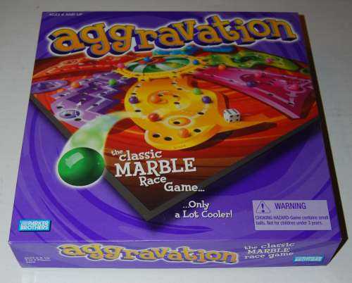 Aggravation marble game