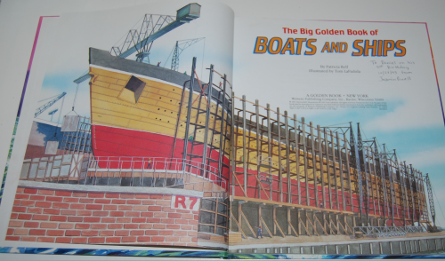 Big golden book of boats & ships 2