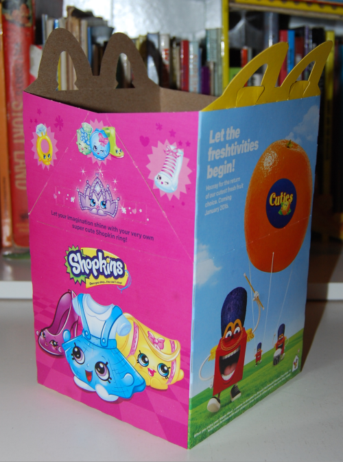 Shopkins happy meal x