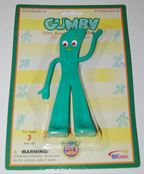 Gumby 60s bendy reissue