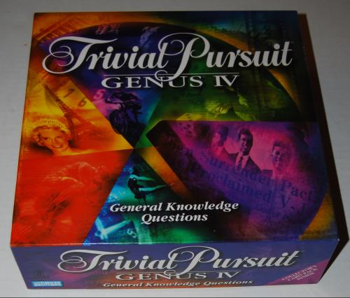 Trivial pursuit board game genus 4