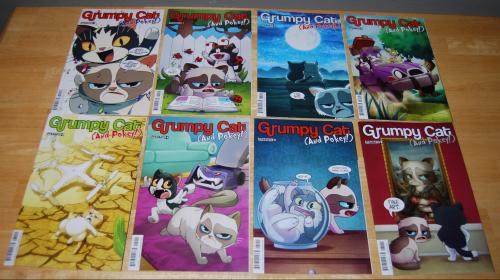 Grumpy cat & pokey comic books