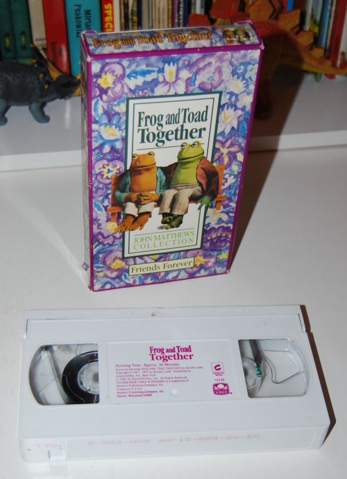 Frog & toad vhs