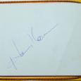 vintage autographs