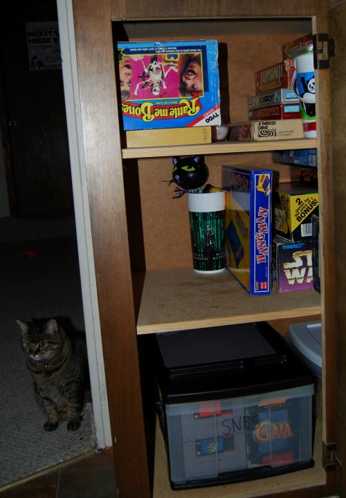 Game cupboard x