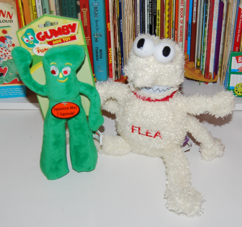 Gumby dog toy 4