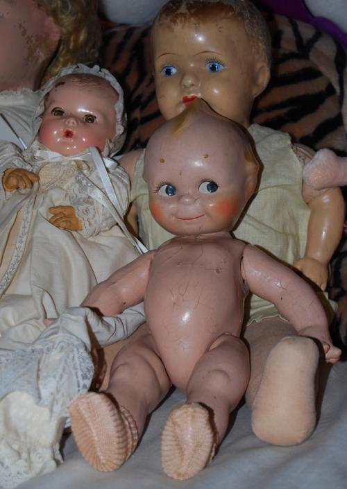 Vintage kewpie doll x