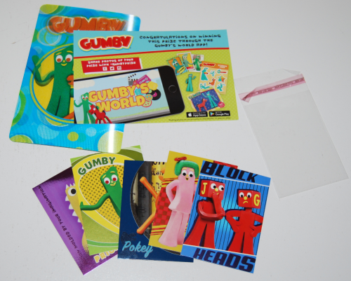 Gumby's world collector cards foils