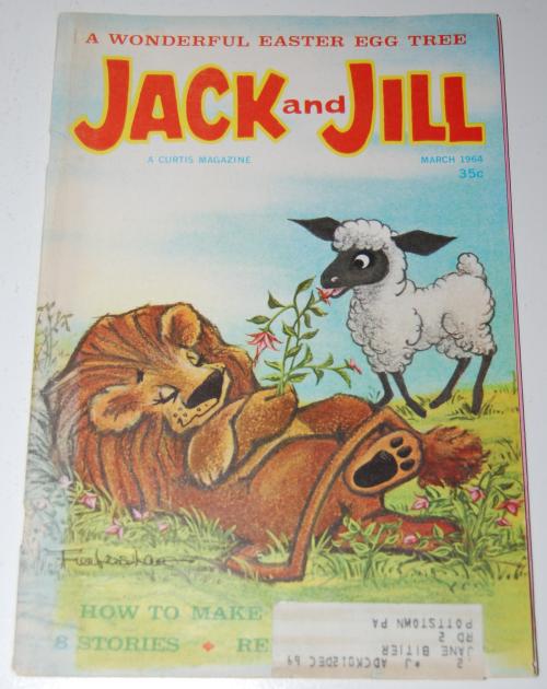 Jack & jill magazine march 1964