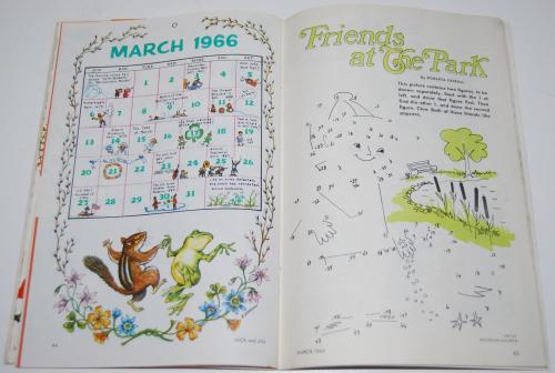 Jack & jill magazine march 1966 13