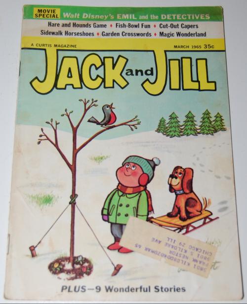 Jack & jill magazine march 1965