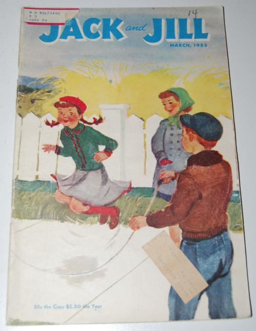 Jack & jill magazine march 1953