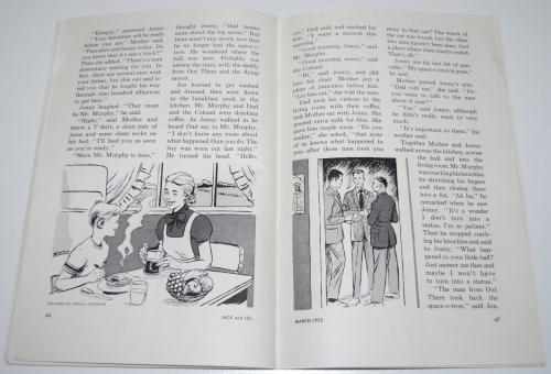 Jack & jill magazine march 1953 8