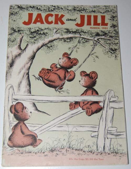 Jack & jill magazine march 1951