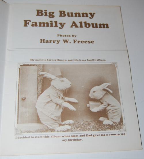 Big bunny family album harry frees 1