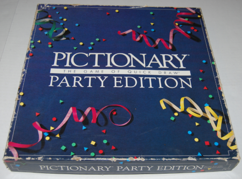 Pictionary game party edition