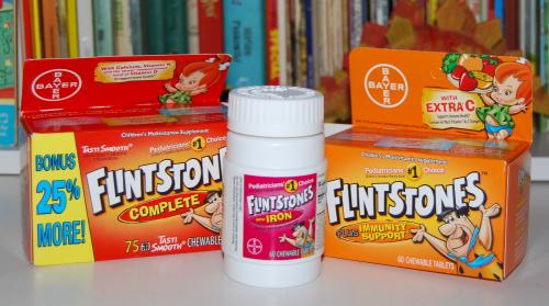 Flintstones vitamins