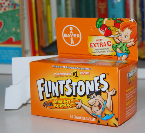 Flintstones vitamins 3
